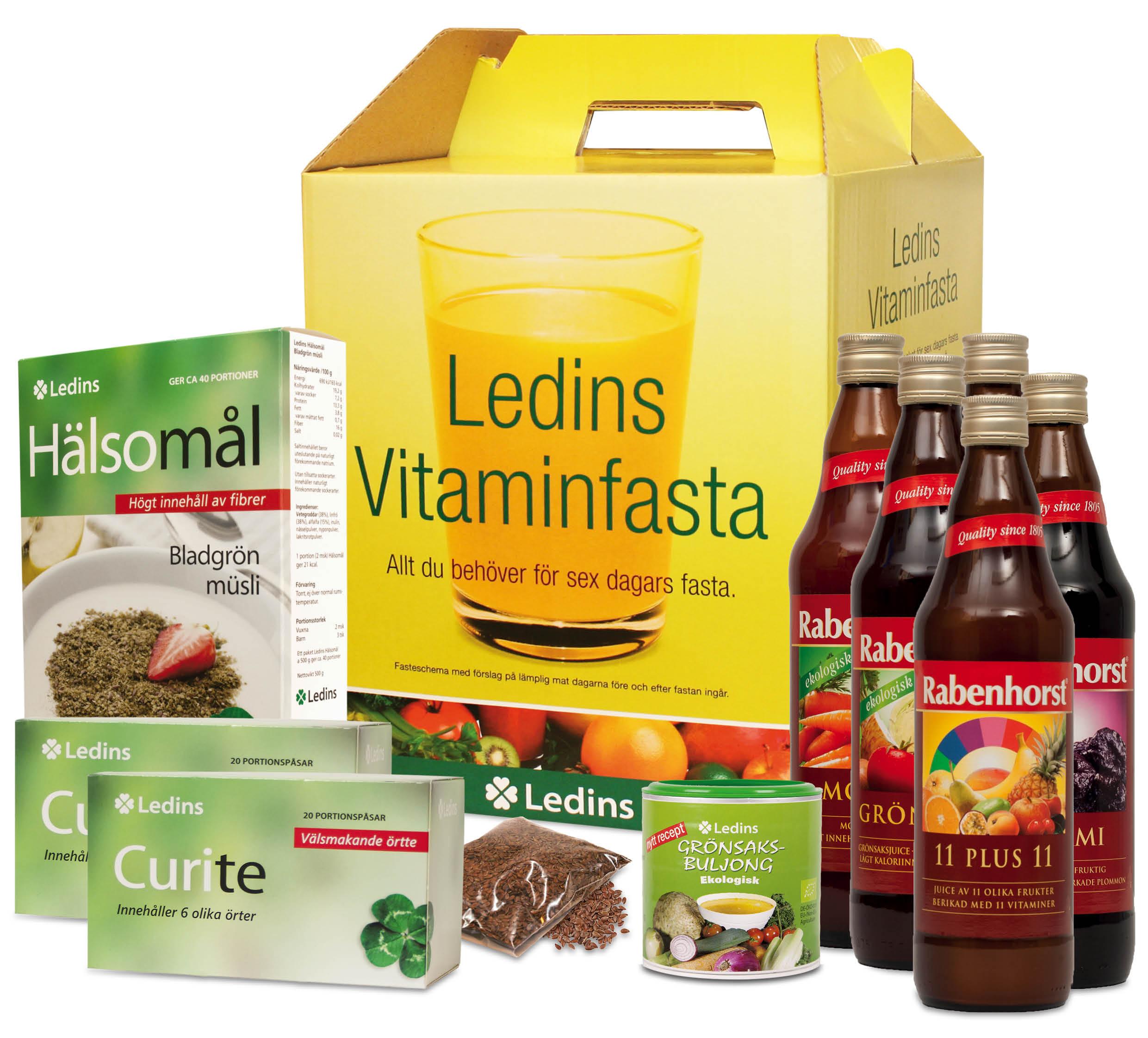 vitaminfasta 6 dagar