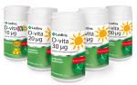 D -vitamin Samlingsbild 100, 50, 30, 20 och 10 µg